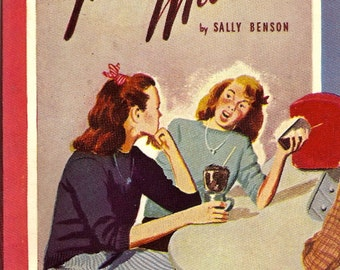 Junior Miss Sally Benson 1945 PB 1st Pocket Books 332