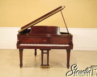 23743E: STEINWAY Model L Baby Grand Mahogany Piano ~ Overhauled 1998