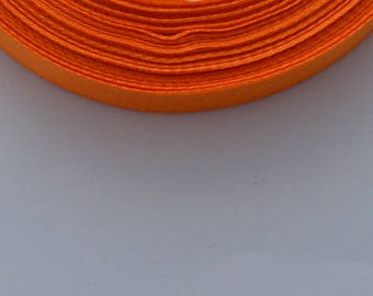 5 m width 12mm Orange satin ribbon