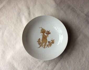 Rosenthal Porcelain Bowl- Bjørn Wiinblad  -MidCentury Ceramic-GentlemanlyPursuits