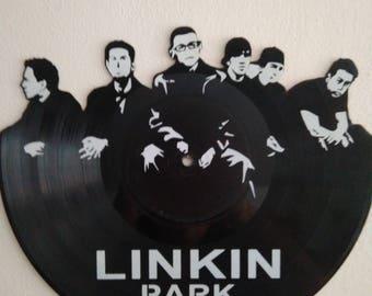 Vinyl Record Art LINKIN PARK unique gift idea