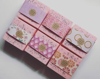12 Wedding Shower Soap Favors:  Bridal Shower or Bridesmaid Gift
