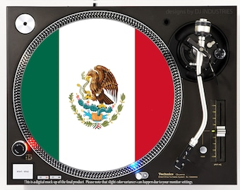 Mexico Flag - DJ slipmat
