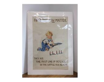 Post World War II Propaganda Poster