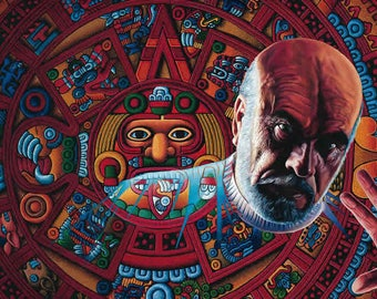 Remember Me As Part of Mexico // Giclee on Canvas