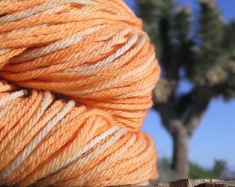 Worsted Weight Yarn - Merino Wool -  Tithonia