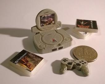 Mini Sony PSOne Deluxe Set - 3D Printed!