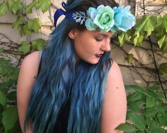Mermaid Flower Crown
