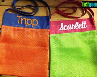 Mesh Shell Bag, Mesh Bags, Beach Accessories, Mesh Beach Bag, Small Mesh Bags, Beach Kids, Kids Beach Bags, Mesh Tote Bags, Shell Bags