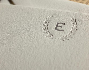 The Imperial Notecard – Custom Letterpress Printed Notecard 50ct
