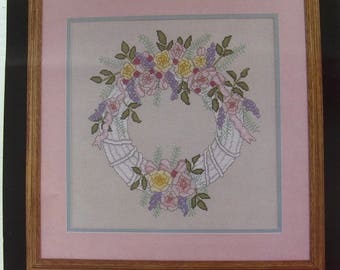 cross stitch Kit counted janlynn: flower Crown