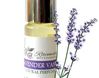 Lavender Vanilla Natural Perfume Oil