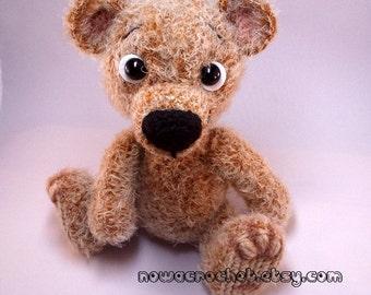 Teddy Berend - amigurumi PDF crochet pattern