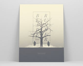 Blade Runner 2049 ~ Blade Runner Poster, Movie Poster, Art Print, Wall Art, Wall Decor, Gift for Him
