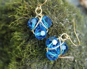 Magical Zora's Sapphire Earrings