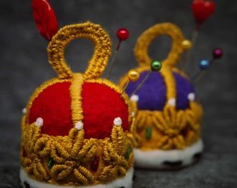 Made to order - Small Bottlecap Royal Crown free usa ship