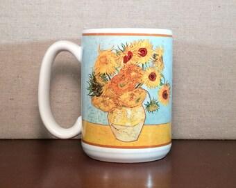 Van Gogh's Sunflowers Design Mug