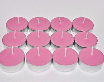 Sandalwood Rose Scented Soy Tealights