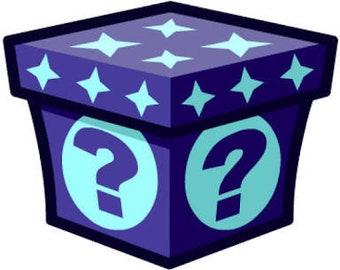 Mystery box-handmade products