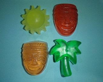 Hawaiian Luau Soap Set