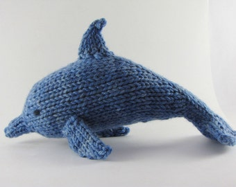 Dolphin Knitting Pattern, PDF, Instant Download