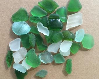 Genuine Sea Glass Pieces, Bulk Sea Glass, Genuine Sea Glass, Multicolor Sea Glass, Beach Glass, Sea Glass for Crafts.