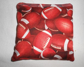 Footballs Corn hole Bags