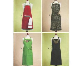 Sewing Pattern – Apron Sewing Patterns – Butterick B5541 – UNCUT Sewing Pattern – Size XY Small Medium and Large