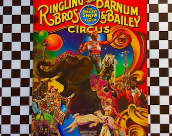 c1981 111th  Edition SOUVENIR Ringling Bros Barnum Bailey CIRCUS Program