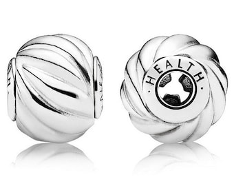 Authentic Pandora Essence Collection Health Bead Charm, Sterling Silver 796015