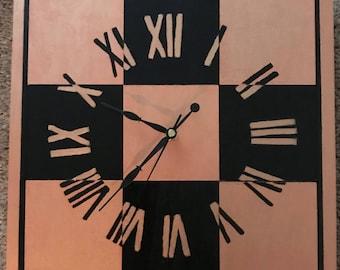 Copper Clock