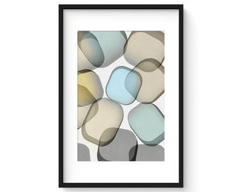 GLASS no.1 - Giclee Print - Contemporary Modern Style Minimalist Modernist  Abstract
