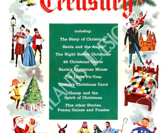Christmas Treasury 1954 Fridge Magnet 2 x 3