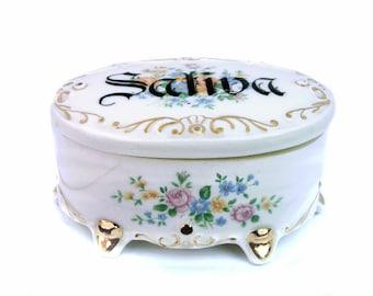 """Sativa Marihuana Stash Box - veränderte Vintage 4,5"""""""