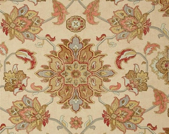 Brooklyn Caramel, Magnolia Home Fashions - Cotton Upholstery Fabric By The Yard