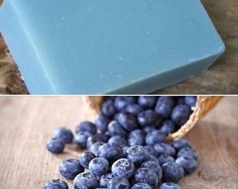 Blueberry Goat Milk Soap Goat Milk Soap with Blueberry