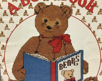 Designs by Gloria and Pat,  Gordon Fraser's   A Bear Book  counted cross stitch pattern book
