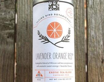 0428 Lavender Orange Red tea 15bag tin