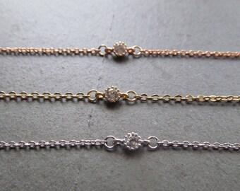 dainty choker necklace, gold choker necklace, silver choker, rose gold choker, thin choker, delicate choker necklace, dainty gold choker,