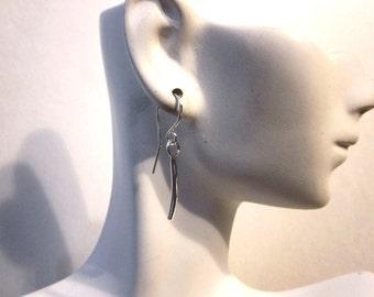 Bella's Sterling Link Earrings