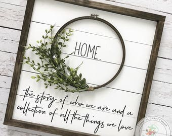 Shiplap Sign, Shiplap Wreath sign, Framed Shiplap Sign, Fixer Upper Sign, Farmhouse Sign, Farmhouse Decor, Fixer Upper Decor, Home Sign