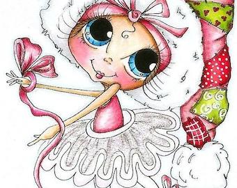 INSTANT DOWNLOAD Digital Digi Stamps Big Eye Big Head Dolls NEW Bestie  Img778 My Besties By Sherri Baldy