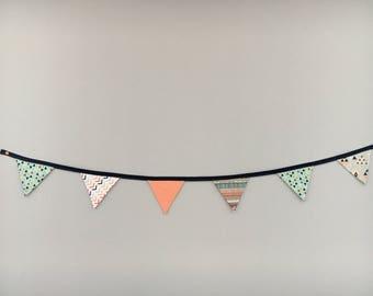 banner flags-fabric-fabric-tissus-fanion-fanions-streamer-pennant-decoration-fabric-decoration child wall banner