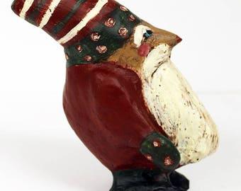 Elof Your Elf (Tomte) for the shelf- Paper Mache Elf Sculpture