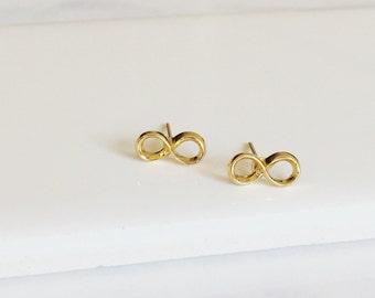 Infinity Earrings, Stud Earrings