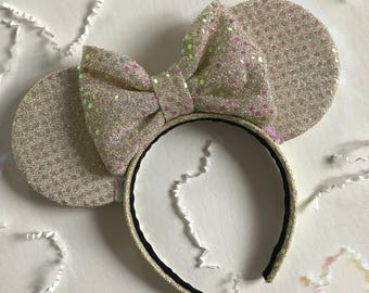 Ready-to-Ship *LIMITED EDITION* Ivory Minnie Ears