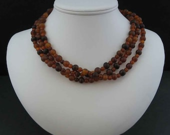 Horn Three-Strand Necklace