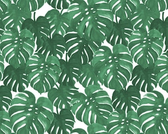 Crib Skirt Monstera Palm. Baby Bedding. Crib Bedding. Crib Skirt Boy. Baby Boy Nursery. Palm Crib Skirt. Green Crib Skirt.