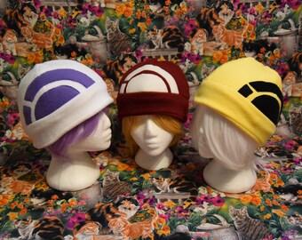 Pokemon Go Trainer fleece Hat - Choose your Color- Adult/Teen size - A perfect fandom geekery gift- Pokemon X & Y