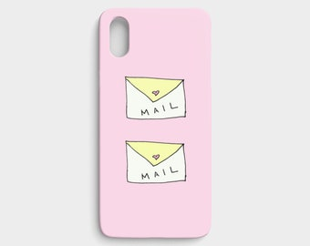 In the Mail / On Pink / For iPhone X